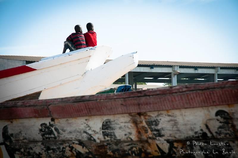 ©pedro loustau, sénégal, afrique, paysage, landscape, fisherman, children,