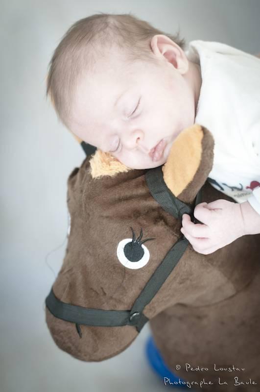 bébé qui reve sur son poney-photographe-la-baule-pedro-loustau