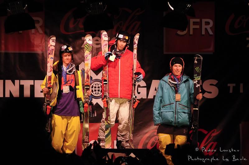 podium superpipe x-games de tignes 2010 photographe la baule nantes pedro loustau