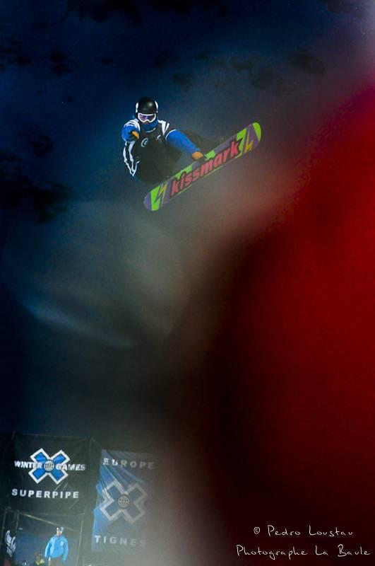 tache rouge et snowboard photographe la baule nantes pedro loustau