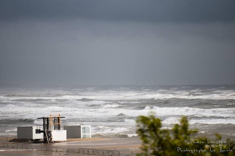 La mer est déchainé -photographe la baule- photographe nantes- Leucate-mondial du vent-kitesurf