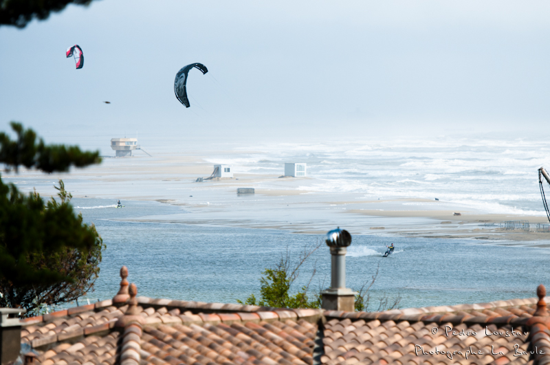 paysage de mon apartement-photographe la baule- photographe nantes- Leucate-mondial du vent-kitesurf