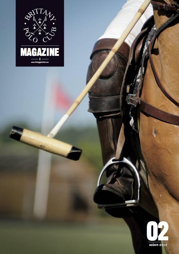 la couverture du Brittany Polo Club pedro loustau photographe la baule nantes