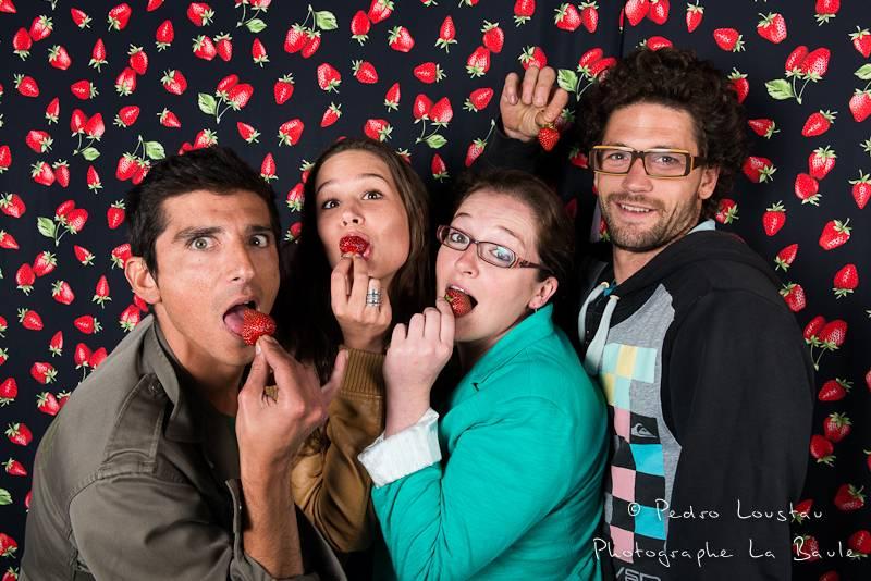 fraise à la bouche studio photo café de la poste pull in pedro loustau photogreaphe la baule nantes