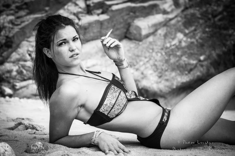 femme fatale - photographe la baule nantes portrait book professionel Pedro Loustau -