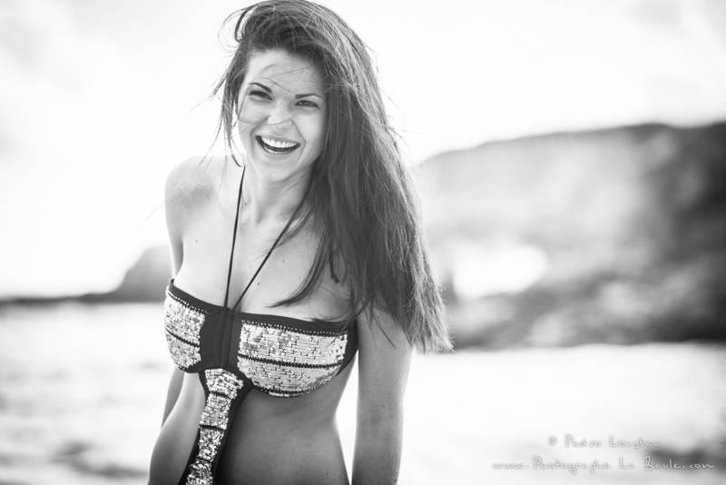 rigolade sur la plage - photographe la baule nantes portrait book professionel Pedro Loustau -