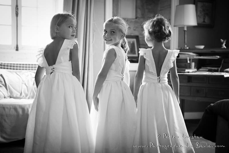les minis brides -©pedro loustau 2012- photographe la baule nantes guérande -mariage-