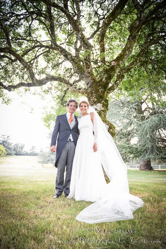 séance couple sous les arbres -©pedro loustau 2012- photographe la baule nantes guérande -mariage-
