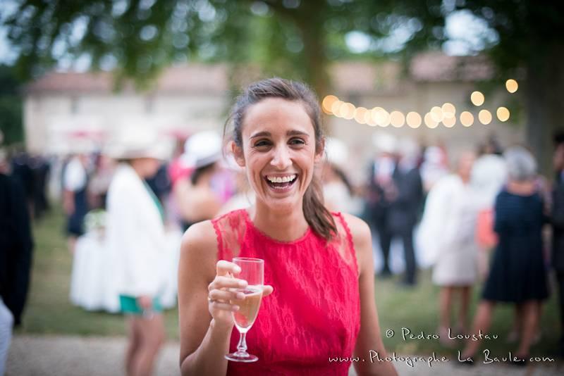 ça rigole bien dans les mariages -©pedro loustau 2012- photographe la baule nantes guérande -mariage-