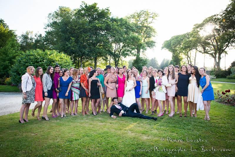 un marié heureux -©pedro loustau 2012- photographe la baule nantes guérande -mariage-