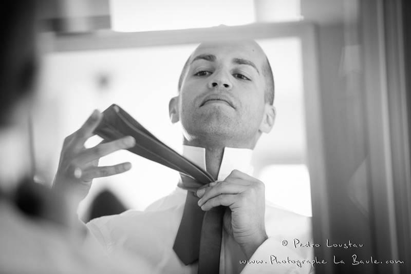 le marié aussi se prépare -©pedro loustau 2012- photographe la baule nantes guérande -mariage-