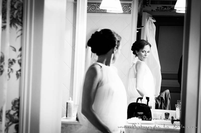 la pression monte durant les préparatifs de la bride -©pedro loustau 2012- photographe la baule nantes guérande -mariage-