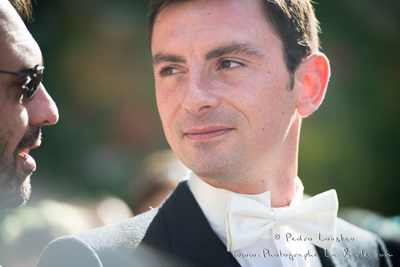 regard du marié -©pedro loustau 2012- photographe la baule nantes guérande -mariage-