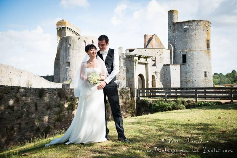 castle wedding -©pedro loustau 2012- photographe la baule nantes guérande -mariage-