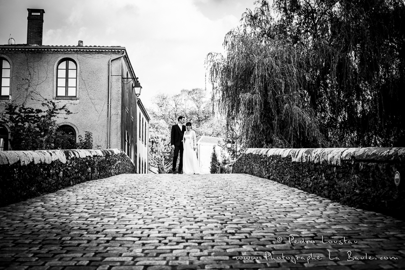 black&white à Clisson -©pedro loustau 2012- photographe la baule nantes guérande -mariage-