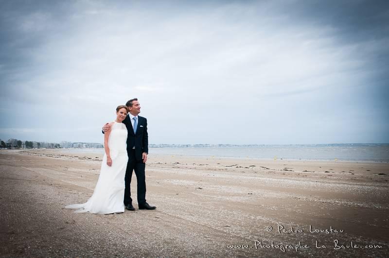 La Baule beach! what else? -©pedro loustau 2012- photographe la baule nantes guérande -mariage-