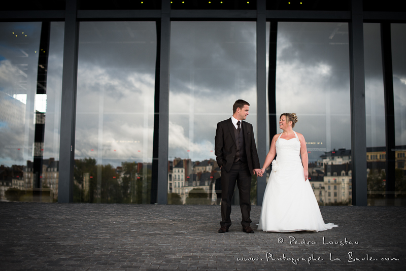 reflet et séance photo -©pedro loustau 2012- photographe la baule nantes guérande -mariage-