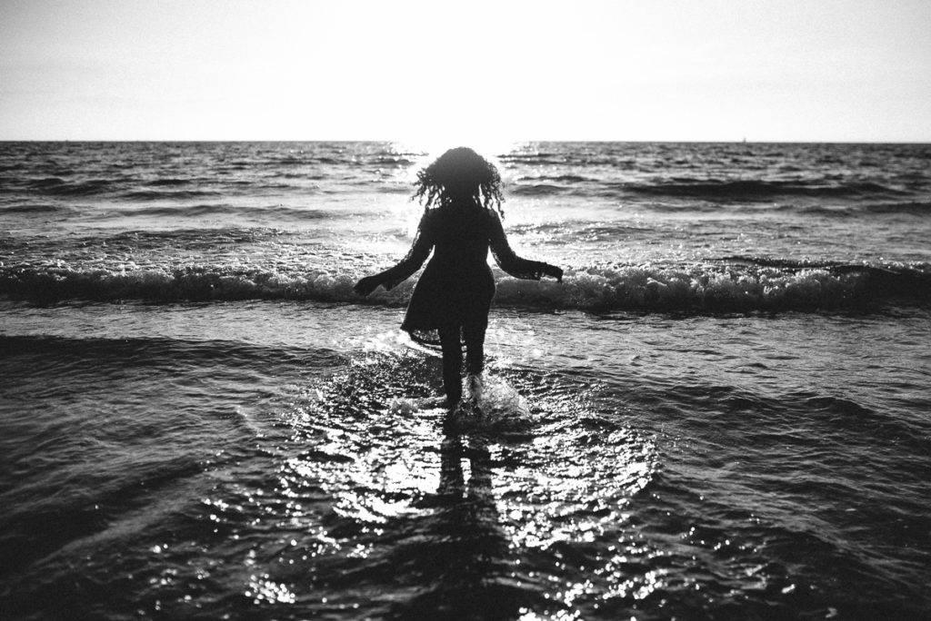 un ange sur la plage - photographe la baule