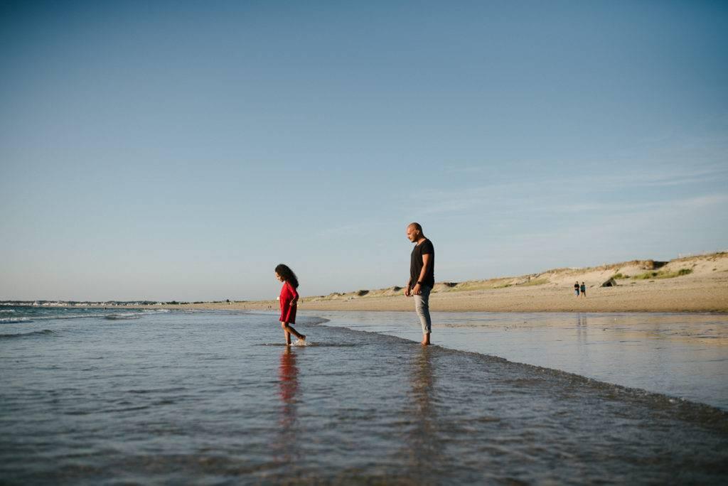 au bord de la plage - photographe la baule