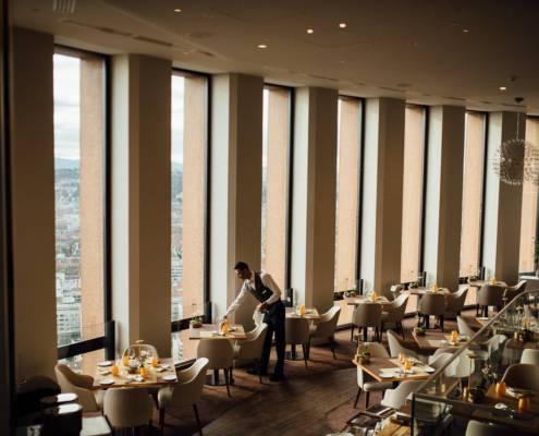 sublime salle de restaurant - photographe la baule