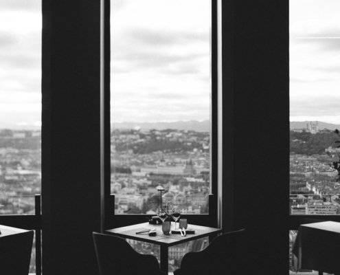 black and white hotellerie - photographe la baule