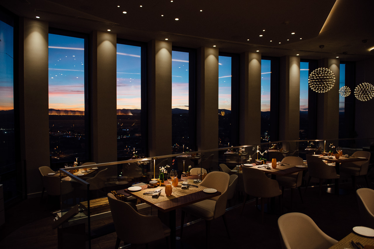 la vue incroyable de l'hotel Radisson à Lyon - photographe la baule