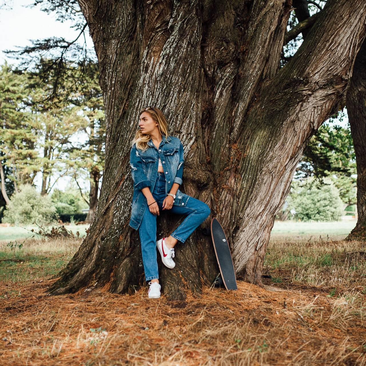 photographie de mode réalisée pour une collection - photographe la baule