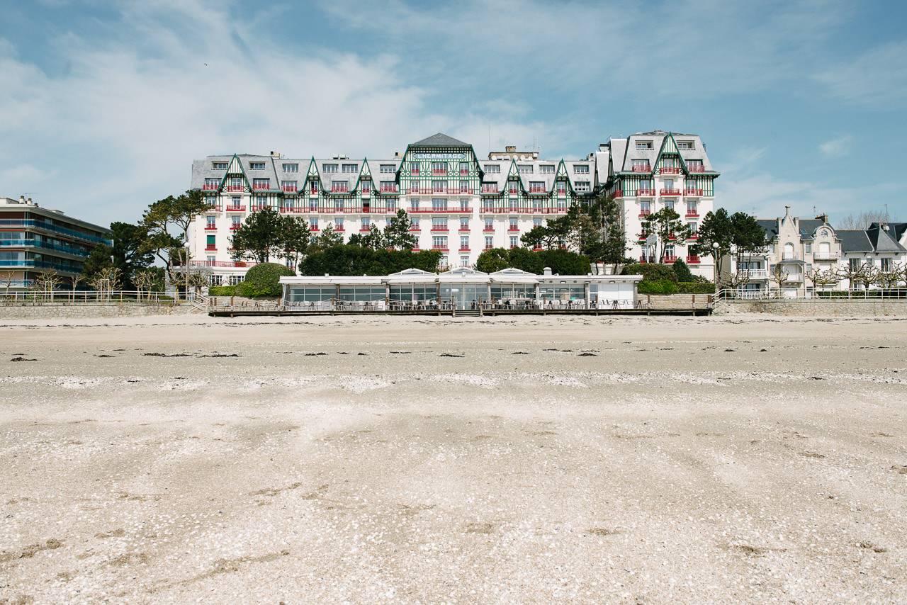 l'Hotel Hermitage Barrière à La Baule - photographe la baule