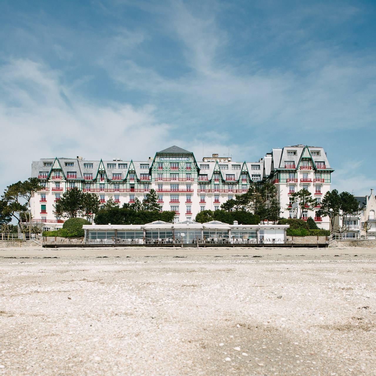 hotel Hermitage sur la plage de La Baule - photographe la baule